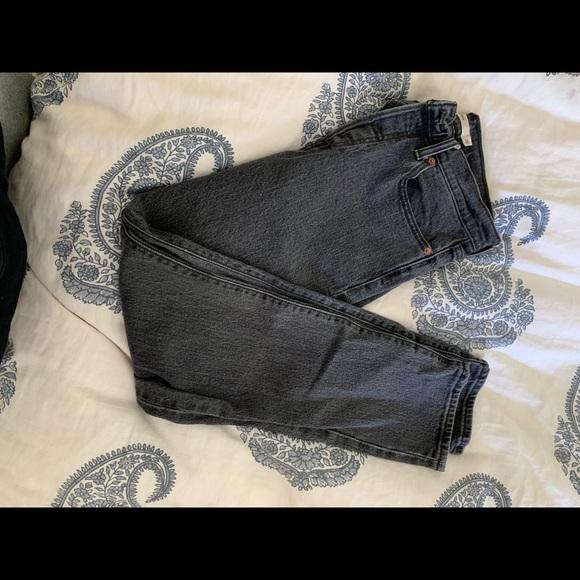 Levi's Denim - Size 28 Gray Wedgie Levi Jeans